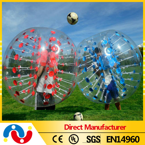 2015 New designed top sale attractive PVC inflatable footbll pool soccer ball at cheap price
