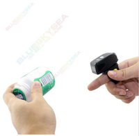 Handheld Mini Bluetooth Ring Finger Barcode Scanner Reader For Android & iOS