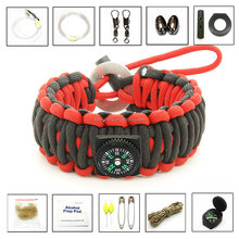 twisted knotted cord bracelet multifunctional personalized paracord bracelet