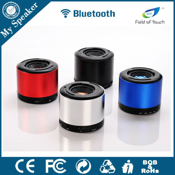2015 Cylinder Bluetooth Speaker & TF card & FM & IP64 & Mini Waterproof