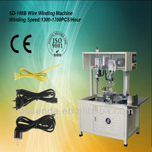 automatic speaker wire & cable coiling winding machine with motor
