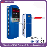 Security Automatic Car Parking System with Ticket Machine