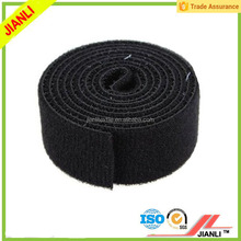 Self adhesive tape hook and loop double sided fastener straps
