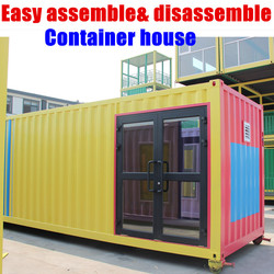 Small Villa Home Design House Expandable Good Container Houses