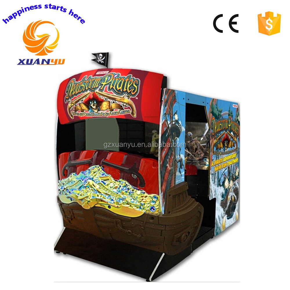 luxurious 55 inch deadstrom pirate Indoor shooting arcade Game machine