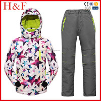 Winter Ski snowsuits kids Snowsuits With Hooded For boys