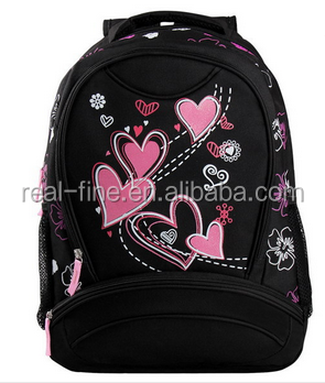 Free Shipping New Arrival Women Backpack Printing Water Bottle Pocket Satchel School For Girl Book Bag Student
