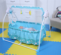 Fashion Electric Baby Crib Baby Cradle With Mosquito Nets Baby Rocker Swing Bed New Design 3 Colors