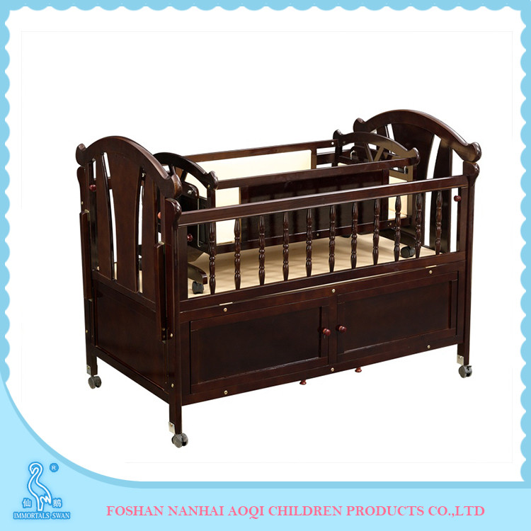 0289B Crib Type Luxury Convertible Daycare Cribs For Newborn Babies