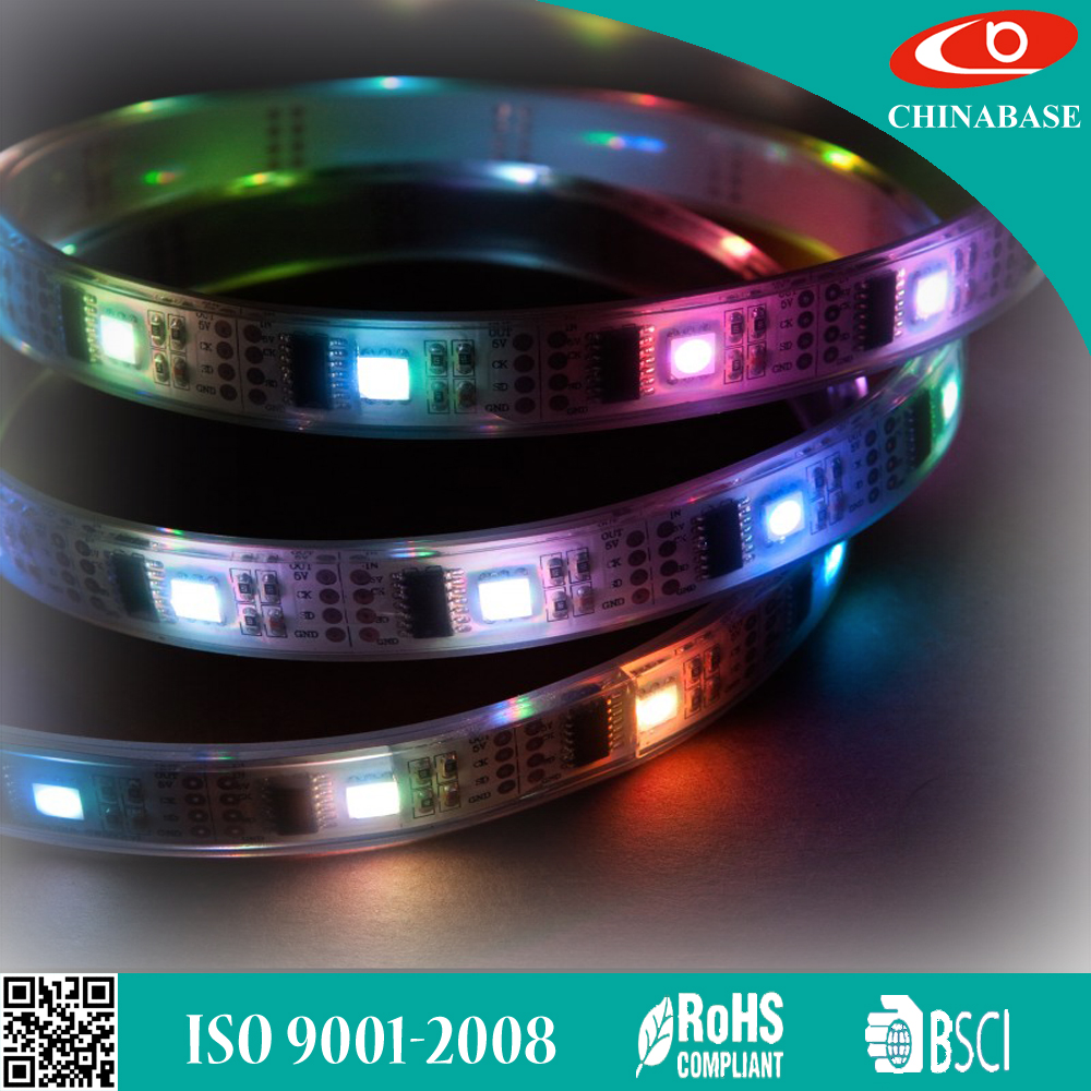 2016 high quality Bande de LED Digital bandes LED etanches de with blister Digital LED Strip