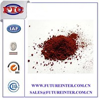 iron oxide red pigments for concrete