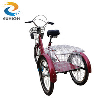 High quality adult pedal trike