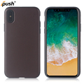New stick leather case for for iPhone X , back cover case mobile accessories