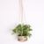 Handcrafted leather plant hanger for indoor outdoor Decorations