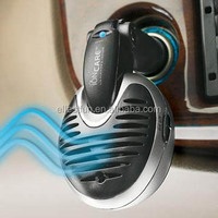 Beautiful Plug in Car Air Ionzier,Ionic Air Freshener w/Pure Negative Ion Generator,Silent Fan & Activated Carbon Filter-GH2116S