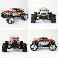rc nitro toy car 1/10th scale 4WD Gas Powered High Speed RC Hobby off-road Truggy