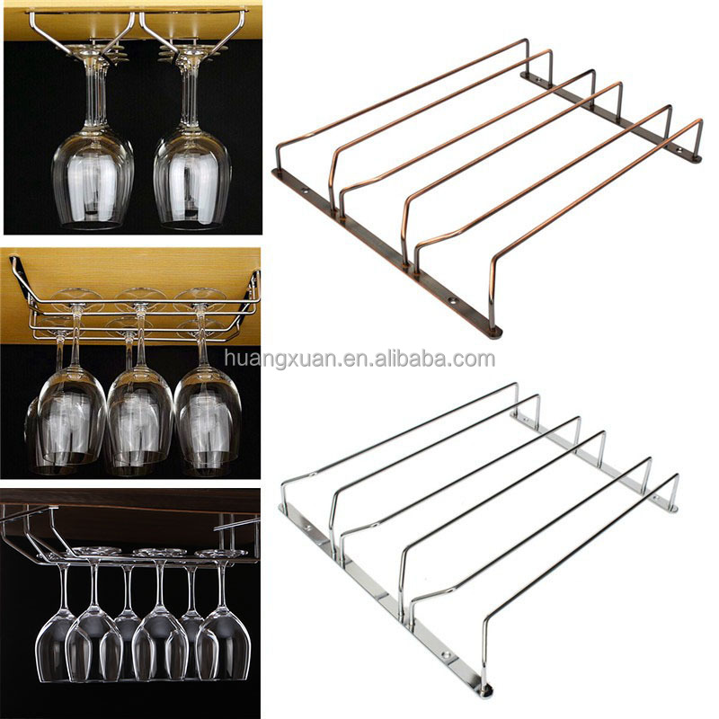 Rustproof Electrophoresis Wine Glass Rack