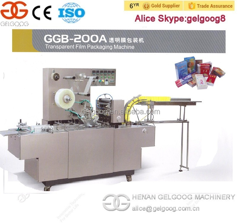 Henan Gelgoog Co. Automatic Cellophane Machine Bar Soap Wrapping Machine For sale