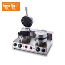 Commercial snake equipment Double plate 1 Kw Eggette waffle maker machine