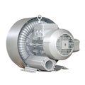 double stage industrial side channel vacuum blower 3KW
