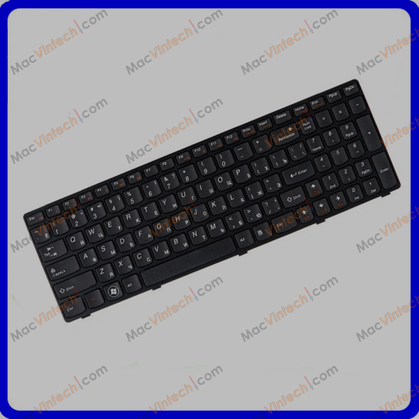 Laptop Internal Keyboard For Lenovo IdeaPad Z560, Z565, G570, G575, G770 Russian RU Layout