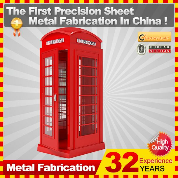 Professional OEM customized coin bank for sale phone booth with 32-year experience