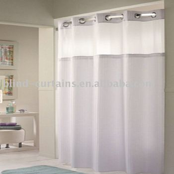 Hookless Shower Curtain Buy Hookless Shower Curtains Hookless Polyester Shower Curtain