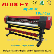 Audley large format 1.9m 2014 new vision 1440dpi four color inkjet printers made in usa