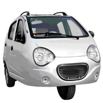 3 wheel car with gasoline EFI engine 600cc silvery attractive appearance