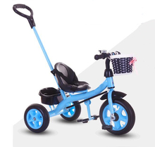 new model children bike with umbrella tricycle kids with trailer for Singapore market