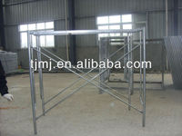 galvanized/gi/painted H frame scaffolding parts with cross brace for Construction china manufacturer