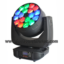 led moving head beam 18x15w rgbw 4in1