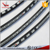 2 Inch Certificated SAE/DIN Surplus Rubber Hydraulic Hose Pipes