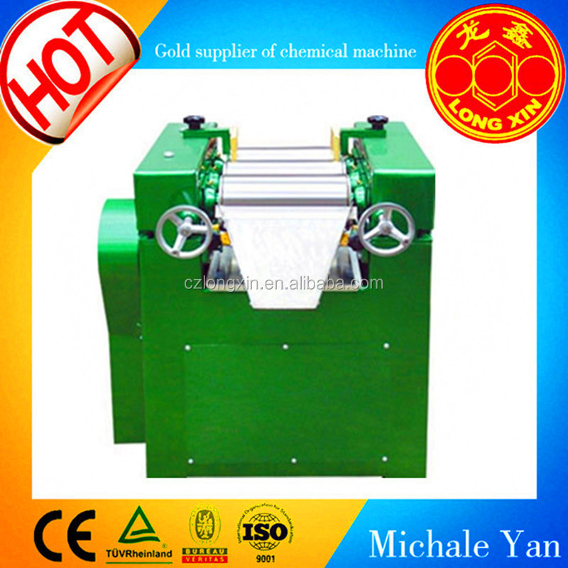 low price used three roll mill,offset printing ink making machine,grinding machine with ce iso certification