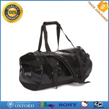 Factory direct sale wataterproof functional mens stylish duffle tarpaulin bag