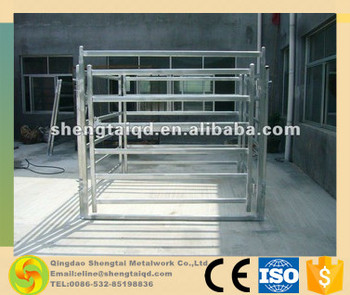 Hot dipped galvanized goat panels