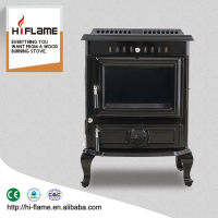 HiFlame 18.5KW output cast iron enamel wood burning fireplace home heater HF446E