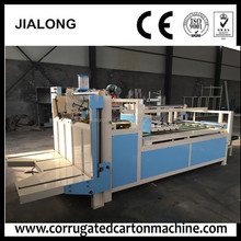 2017 trendy style Semi automatic folder gluer /folding gluing machinery /corrugated carton box machine