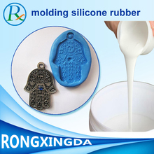 Easy moulding liquid silicone with hardener