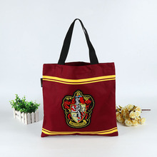 Customized logo print embroidery Cotton Canvas bag Tote shopping Bag with multiple deisgn