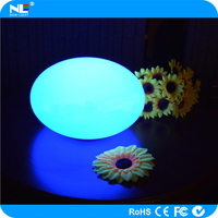 China supply floating waterproof LED lighted fat balls / color changing mood LED illuminated ball light
