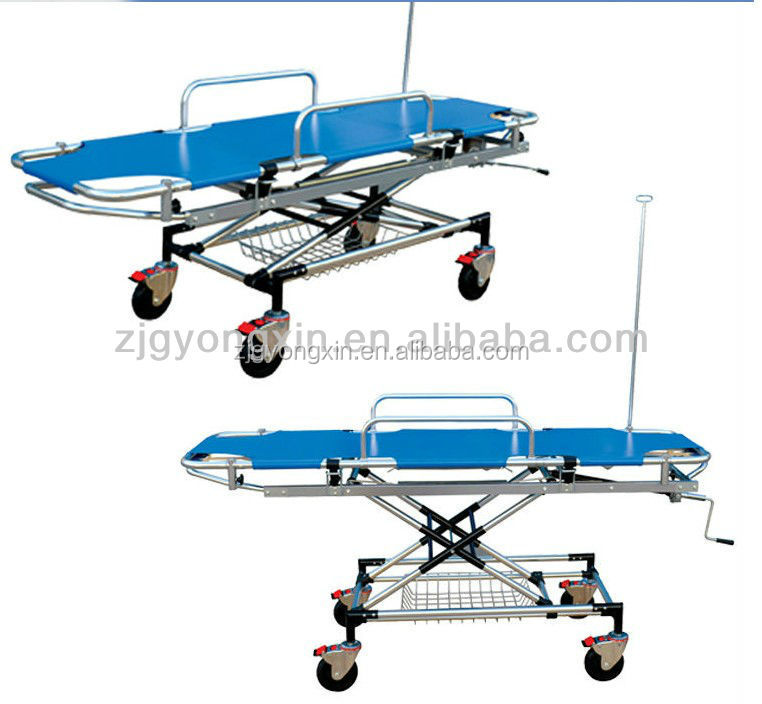 Professional emergency trolley equipment function
