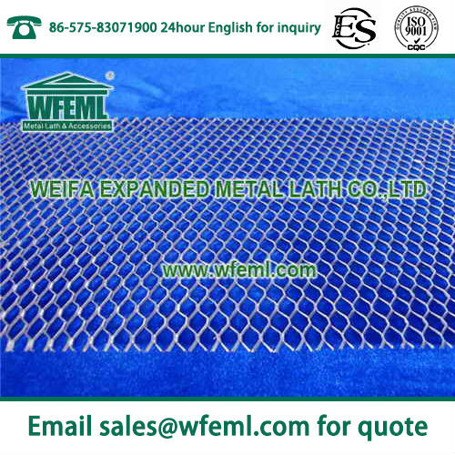 Diamond Mesh Expanded Metal Lath