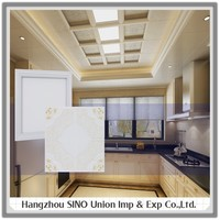 Top rated economical durable cleaning restaurant false roof flower design ceiling