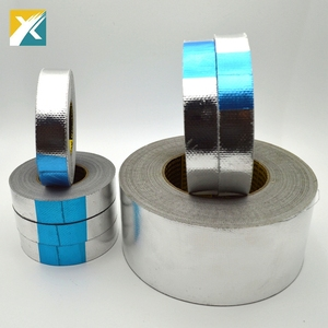 High Adhesion Reinforced Fiber glass Aluminum Foil Tape
