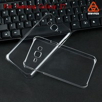 china supplier BX 2016 new products mobile accessoriesPlastic Clear hard phone case for samsung Galaxy J7, J7000