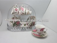 Newest hot sell ceramic teapot cup porcelain teapot