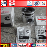 Europ QSB6.7 Diesel Engine Piston Kit 3802927 With Piston 3948465+Retaining Ring 3920691+Piston Ring 3802919+Piston Pin 3934047