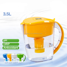3.5L Alkaline water filter pitcher with Alkaline filter
