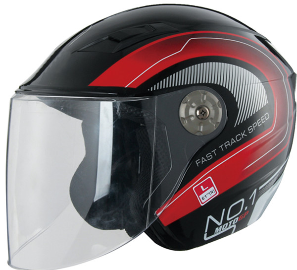 Popular 3/4 Open face Scooter Helmet Motorcycle With Shield